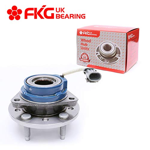 FKG 513137 Front Wheel Bearing Hub Assembly fit for 97-03 Chevy Malibu, 04-05 Chevy Classic, 97-99 Oldsmobile Cutlass, 99-04 Oldsmobile Alero, 99-05 Pontiac Grand AM, 5 Lugs W/ABS
