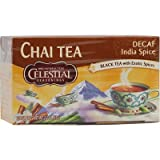 Cheap CELESTIAL SEASONINGS CHAI,ORIGINAL,INDIA DECAF, 20 BAG