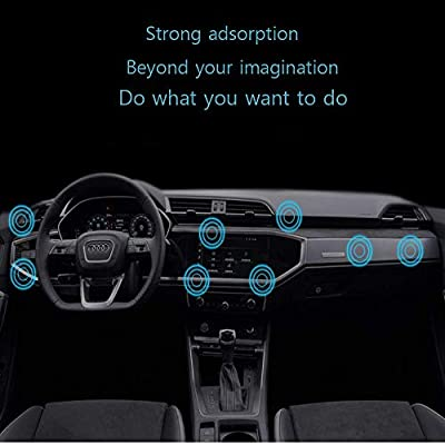 Magnetic Phone Mount, [ Super Strong Magnet ] car Magnetic Phone Holder, [ 360° Rotation ] Universal Dashboard car Mount Fits iPhone Samsung etc Most Smartphones