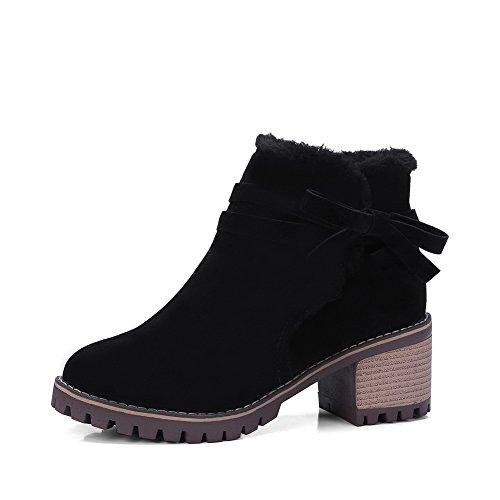 BalaMasa Abl10486, Bottes de Neige femme - Noir - noir,