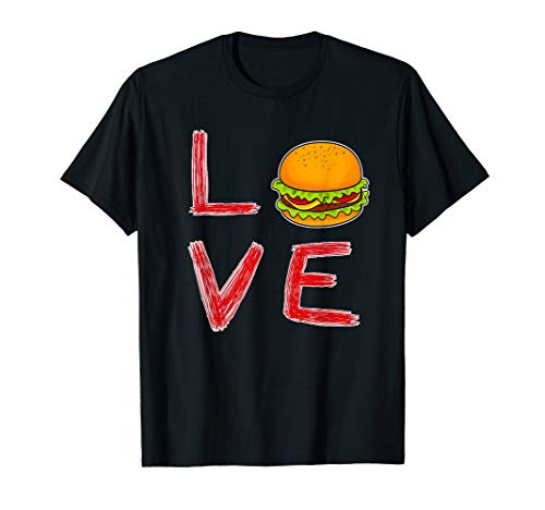 - I Love Burger Special Gift for burger lovers Burger lover