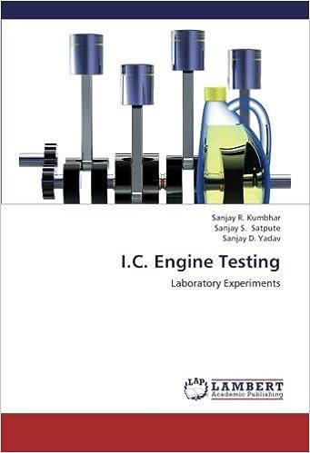 I.C. Engine Testing: Laboratory Experiments