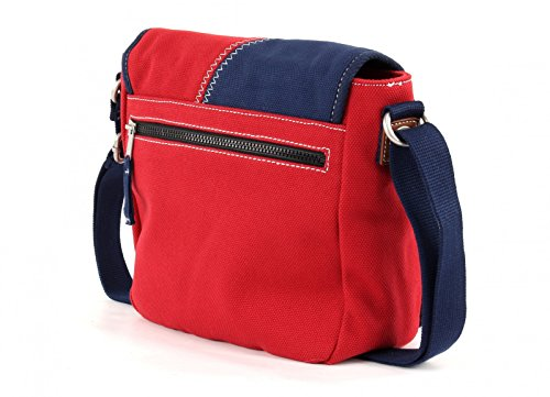 Camp David Deep River bolso bandolera 26.5 cm Red (Rot)