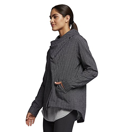 Hurley Women's Rumble Fleece Jacket Heather Grey Small