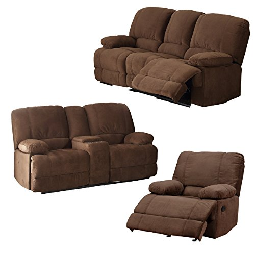 Reclining Living Room Set: Amazon.com