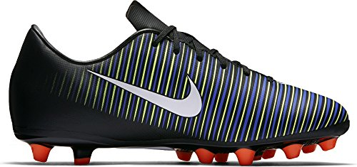 Nike 831944-013, Botas de Fútbol Unisex Adulto Negro (Black / White-Electric Green)