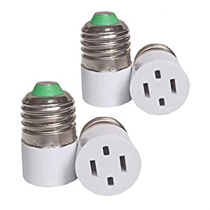(4pack) Outlet Plug Converter Adapter 2 Prong Type A ...