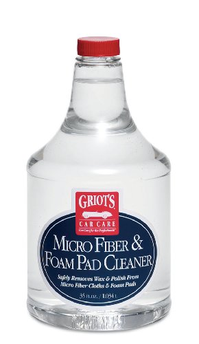 Griot's Garage 11078 Micro Fiber and Foam Pad Cleaner 35oz ()