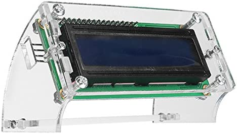ILS - Módulo IIC / I2C 1602 retroiluminación Azul Pantalla Cristal ...