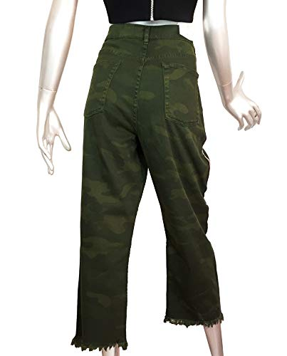 Jeans Cropped 242 Donna Zara Camouflage 9632 HzZEq