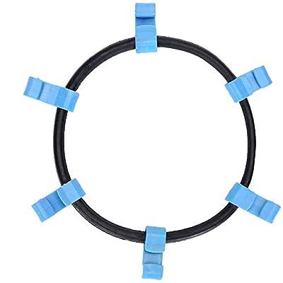 Homeon Wheels SZ1176 Tire Traction Chain Rubber Tightener 6 Hooks- Set of 2 (SZ1176): Automotive