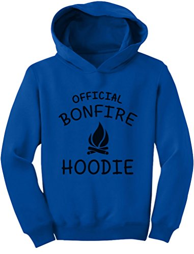 - TeeStars - Children's Funny Camping Gift Idea - Official Bonfire Toddler Hoodie 5/6 Blue