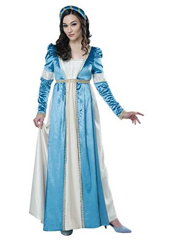 California Costumes Women's Juliet - Adult Costume Adult Costume, -Blue/Cream, Small -
