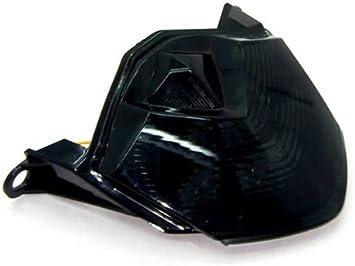 Black Side Rear View Mirrors Turn Signal For Kawasaki Ninja ZX10R 2008-2010 2009
