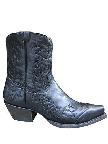Planet Cowboy Womens' Black Ankle 6