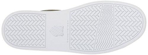 K-Swiss Court Frasco, Zapatillas Para Mujer Verde (Olive Night/gold)