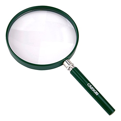 Carson HU-20AMMU BigEye Magnifier with Oversized Lens (Set of 10), 5'' by Carson