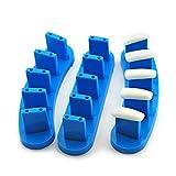 KADS 3pcs/set High Qulity PlasticTip Stand for Practice Use Practice Training Nail Art False Tips Display Training Tool