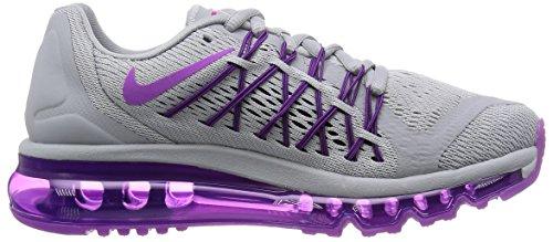 Nike W Air Max 2015, Women's Low-top Grey / Purple