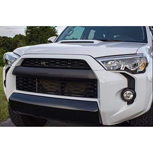 ITrims 2014 2015 2016 2017 2018 2019 for Toyota 4Runner TRD Pro Black Front Bumper Grill Grid Grille Replacement 2PCS