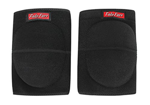 A Pair Kid Teens Adult Crashproof Safety Knee Elbow Pads Leg Sleeves Padded Sports Dancing Knee Brace Protective Strap Wrap Support Protector Warmers for Basketball Volleyball Football Skating Cycling
