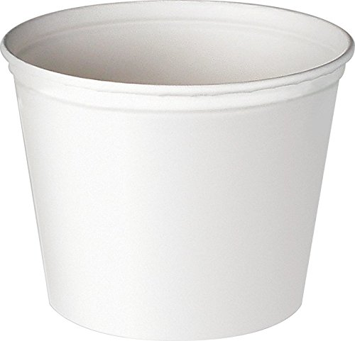 Solo Foodservice 3T1-02050 Tub/Bucket, 53 oz, White (Pack of 300) by Solo Foodservice