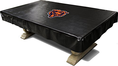 Imperial Officially Licensed NFL Merchandise: Billiard/Pool Table Naugahyde Cover, 8-Foot Table, Chicago Bears