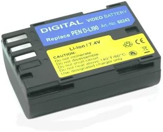 Charger Replacement for Pentax DL-190 Battpit Battpit New Digital Camera Battery 1900 mAh