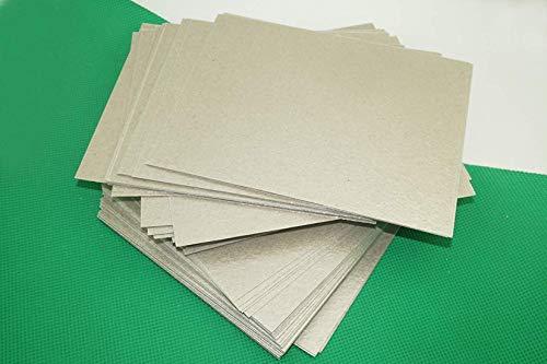 (Paquete de 5) horno de microondas reparación parte Mica Placas Hojas–Cubierta universal–15cm x 12cm (puede...