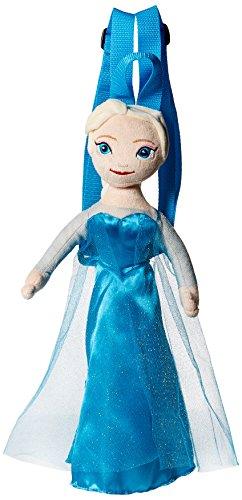 [Disney Girls' Frozen Elsa Plush Backpack, Blue] (Monster High Kitty)