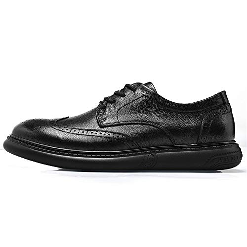Men's Comfort Dimensione Fashion sintetica Resistente Color Nero in amp;Baby da Nero 42 all'abrasione pelle in EU Business Oxford Ccasual scamosciate Scarpe Sunny pizzo massaggio qwOS5xxR
