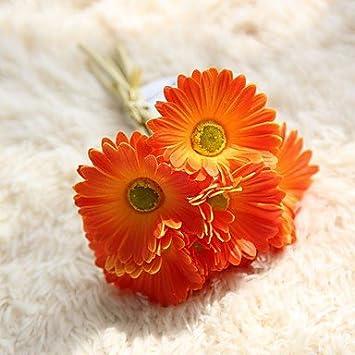 Huayifang Kunststoff Ganseblumchen Tischplatte Blume Kunstliche