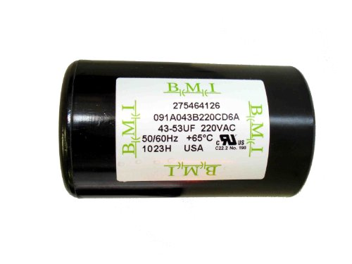 43-53 MFD (uF) Franklin 1/3 and 1/2 HP Control Box Motor Start Capacitor for Franklin 275464126, 2801034915, CRC 2824055015 . New