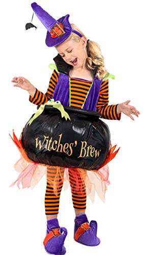 Princess Paradise Cauldron Witch Child's Costume,