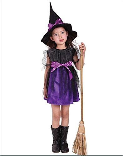 2017 New Halloween Costume For Children,Cosplay Witch Child Dance (Diy Girl Halloween Costumes 2017)