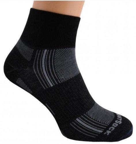 - Wrightsock Double Layer Stride Quarter Socks