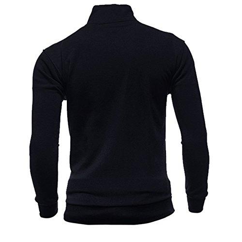 Maglione Shirt Felpe Nero Uomo Cappuccio Lunghe Uomo Maglietta Top Pullover Uomo XXXl Con M Top Magliette Uomo Giacca Maglia Felpe Jacket Weant T Uomo Uomo Felpa Tumbler Uomo Maglietta Maniche XqvCSE