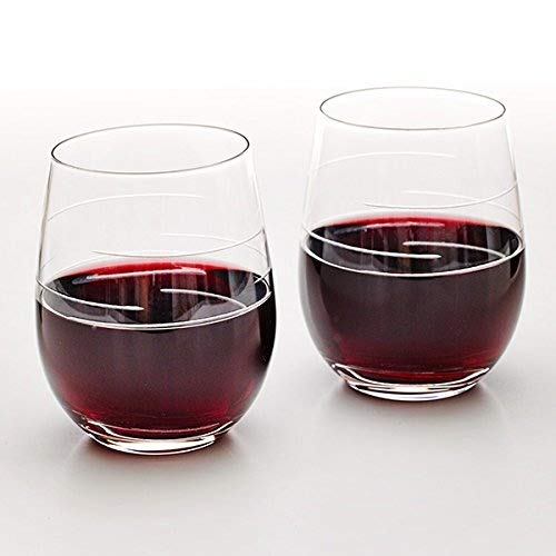 Weight Watchers Stemless Wine Glass (Set of 2)