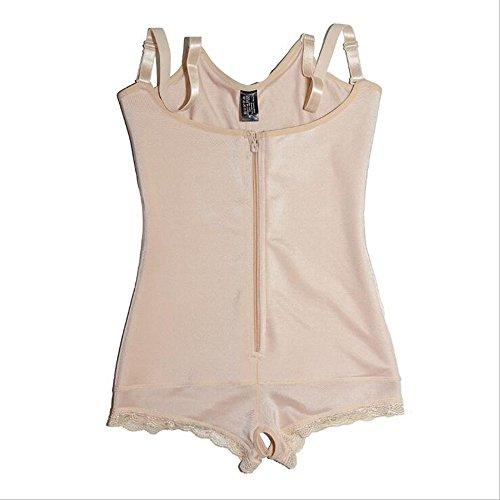 56fb531ffdd EESIM Women s Firm Tummy Control Shapewear Body Shaper with Zipper  Bodysuits Open Bust Body Briefer Slimmer