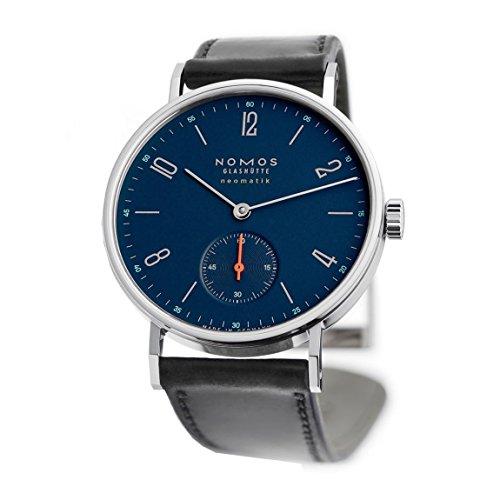 Nomos tangente neomatik nachtblau de hombre automático reloj redondo 177: Amazon.es: Relojes
