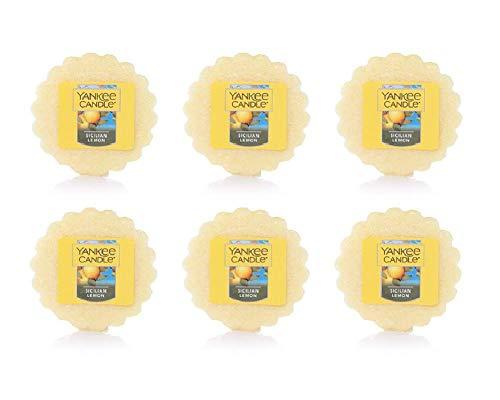(Yankee Candles Set of 6 Sicilian Lemon Tarts Wax Melts ...)