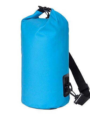 ZQ Outdoor Aktivitäten Unisex Wasserdichte Taschen Driften Outdoor Tourismus Reise Pakete Barrel Beach Staubbeutel (verschiedene Farben) Orange - orange