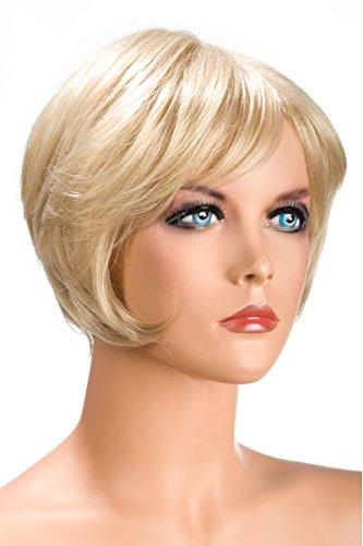 World Wigs Perruque Blonde Carré Court Nuque