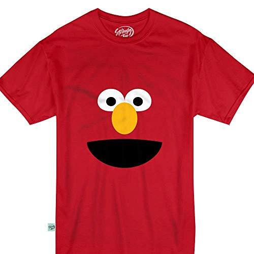 Red Puppet Elmo Halloween Monster Costume Kids &