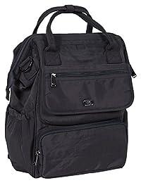 Lug Women's Via Tote Backpack, Midnight Black, One Size