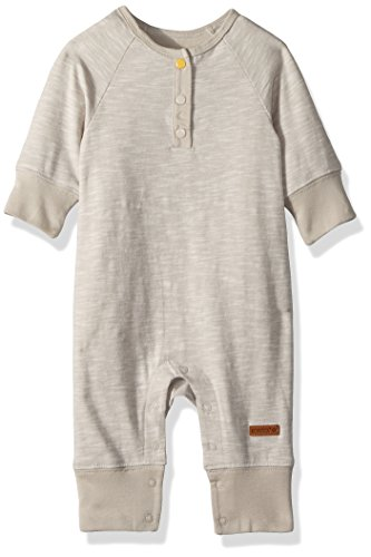(Robeez Baby Infant Coverall, You You Make Me Smile Brown, 3)
