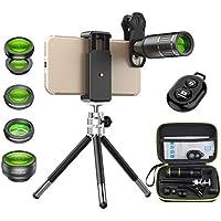 Apexel Cell Phone Camera Lens Kit -Remote Shutter+ Phone...