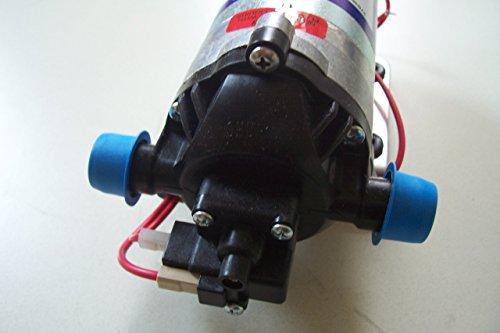 SHURflo Diaphragm Pump with Heat Sink - 1/2in. Ports, 216 GPH, 12 Volt Motor, Model# 2088-514-145