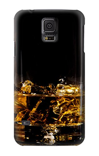 R2742 Ice Whiskey Whisky Glass Case Cover For Samsung Galaxy S5 (Whiskey Case S5 Samsung Galaxy)