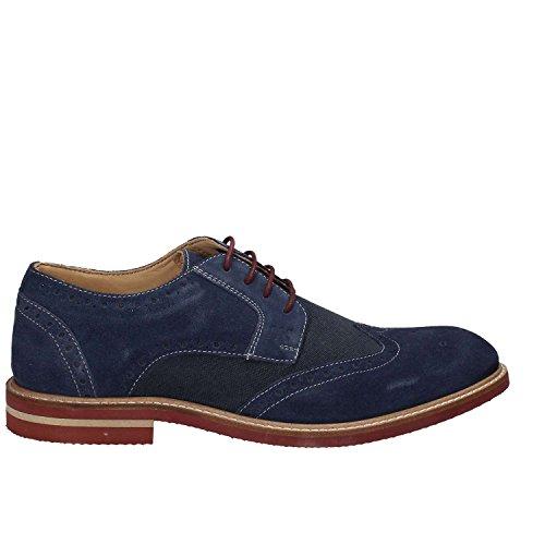 Lumberjack Herren Alonso Brogue-Schuhe Blau